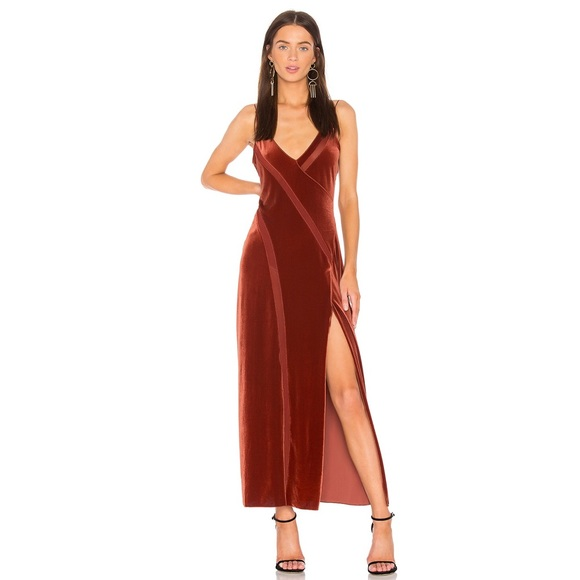 72811cbbfab305 Free People Dresses | Spliced Velvet Maxi Dress | Poshmark